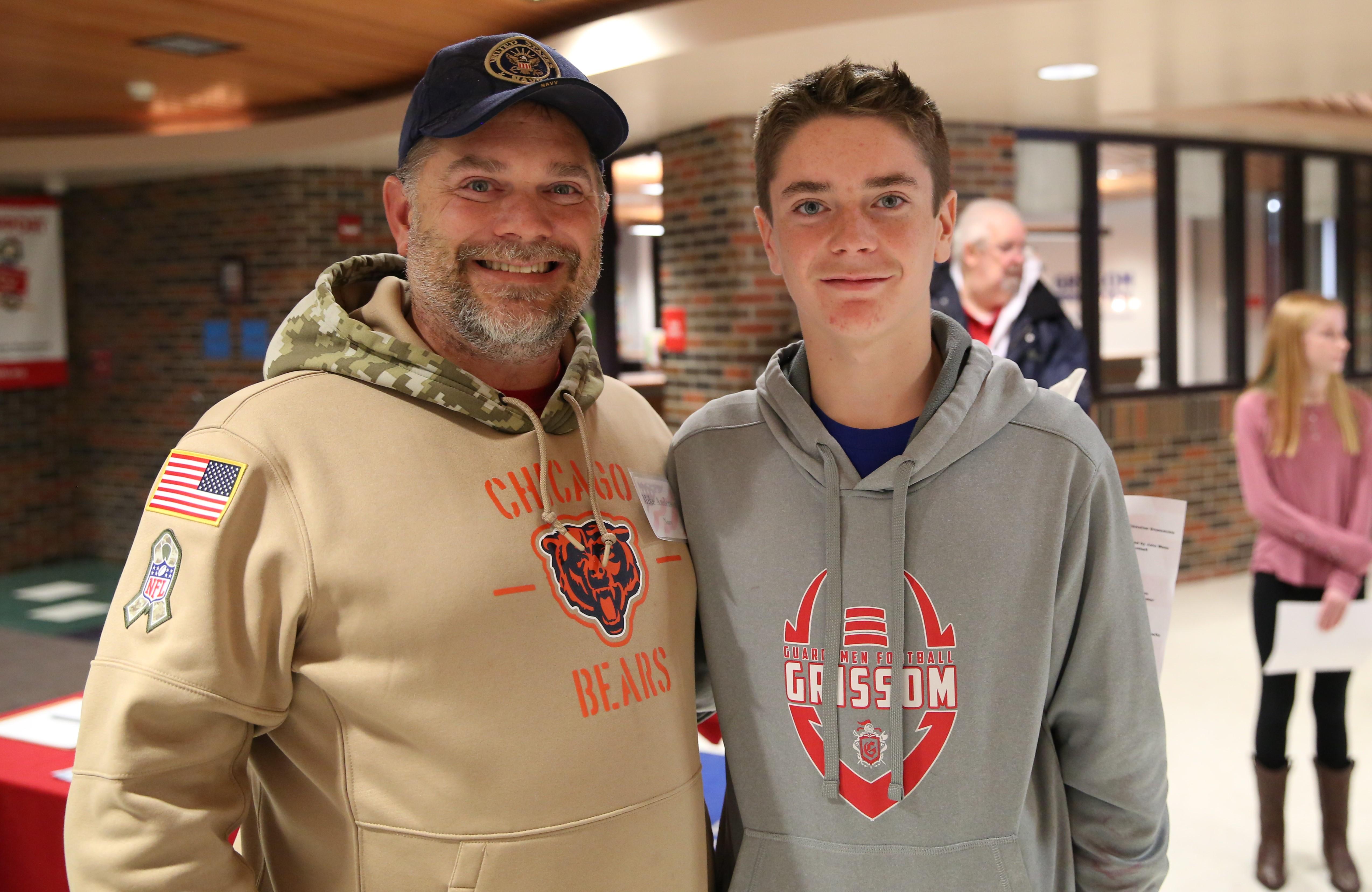 Grissom student with veteran family member