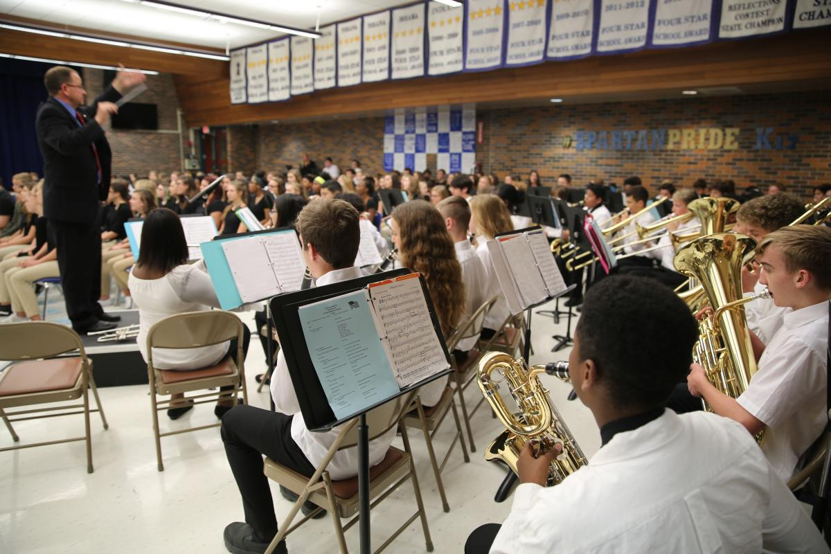 Schmucker Band performance (Nov. 2019)