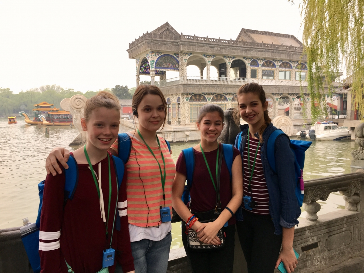PHM students on Spring 2017 trip to China
